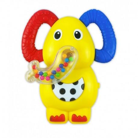 Barškutis - muzikis žaisliukas Drambliukas