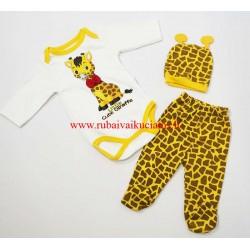 Komplektas kūdikiui Žirafa