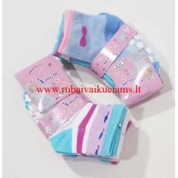 Mergaičių kojinės su stabdžiais 18-20 dydis
