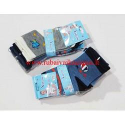Berniukų kojinės su stabdžiais 18-20 dydis
