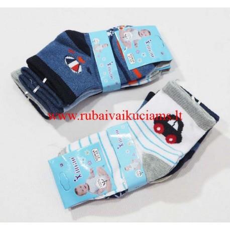 Berniukų kojinės su stabdžiais 21-23 dydis