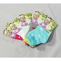 Mergaičių kojinės su stabdžiais 0-24mėn.
