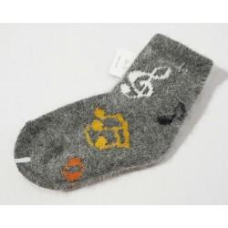 Vilnonės kojinės 6-12 mėn
