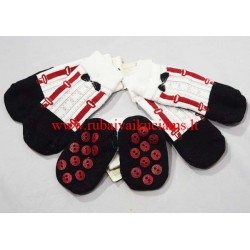 Neslystančios kojinės kūdikiui Džentelmenas