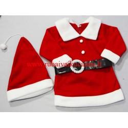 Kalėdinė tunika- suknelė Nykštukė
