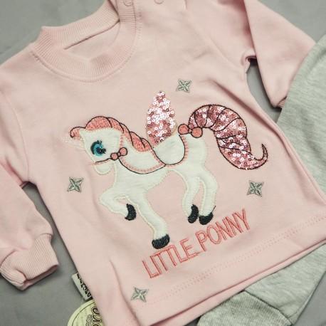 Puošnus komplektas mergytei Little Ponny
